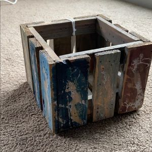 Home accent crate